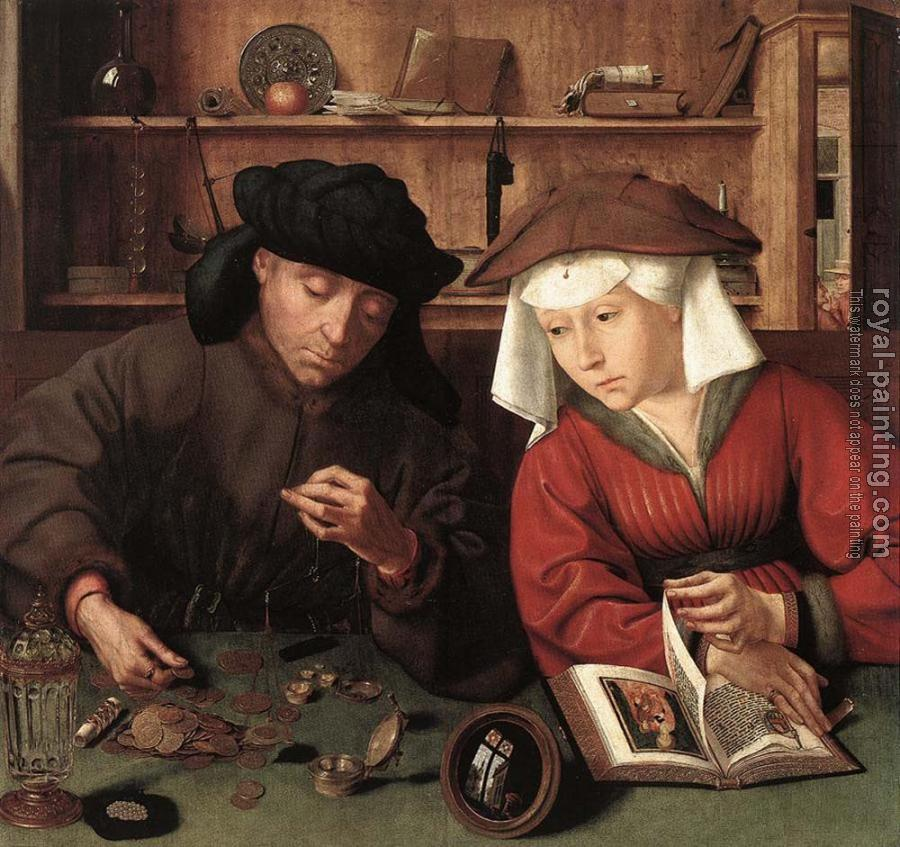 Quentin Massys : The Moneylender and his Wife
