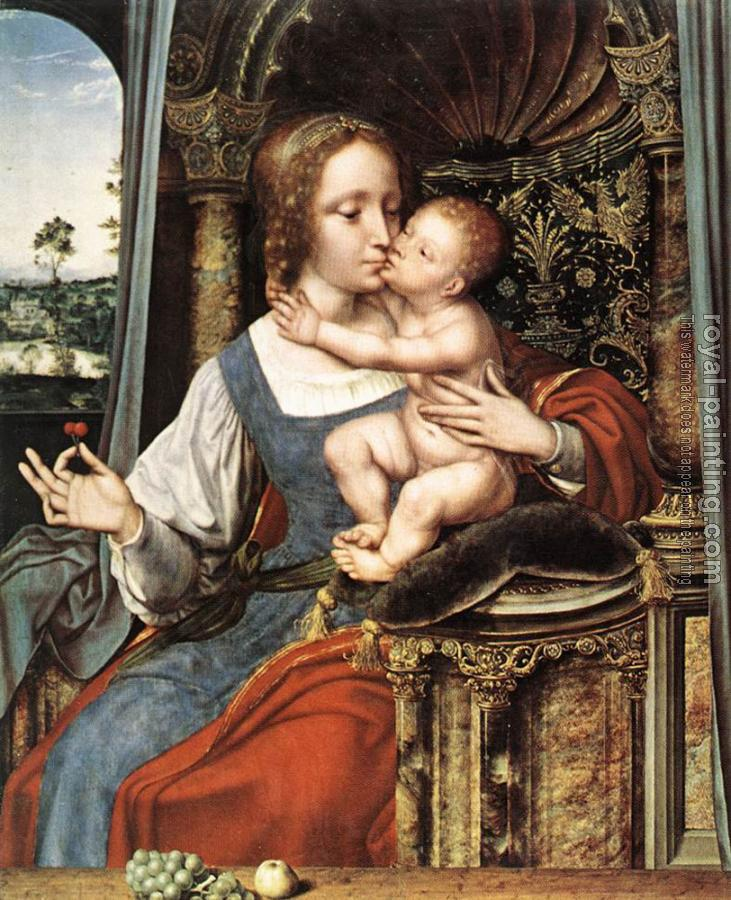 Quentin Massys : Virgin and Child