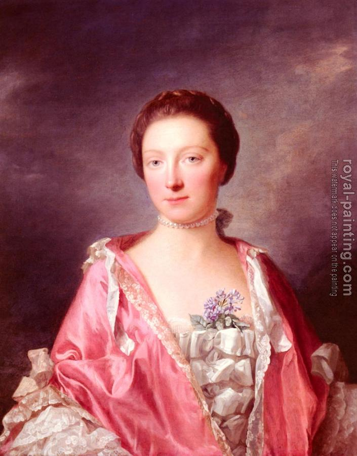Portrait Of Elizabeth Gunning, Duchess Of Argyll