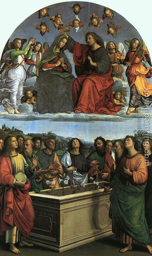 Raphael : The Crowning of the Virgin, Oddi altar