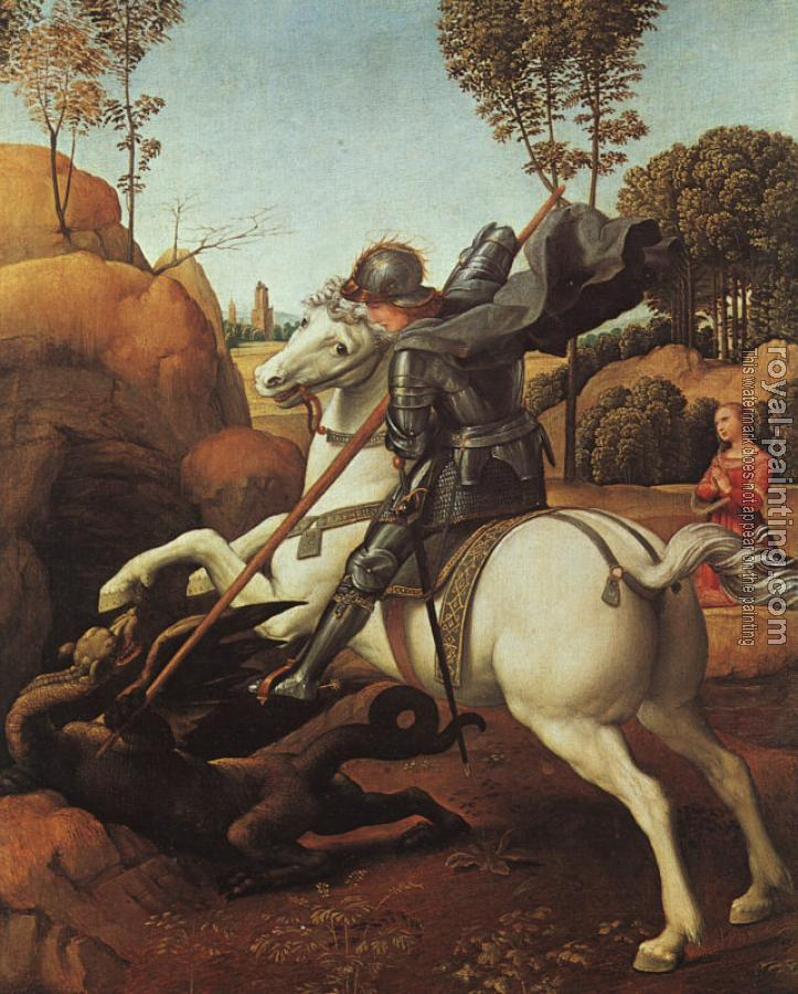 Raphael : St George and the Dragon