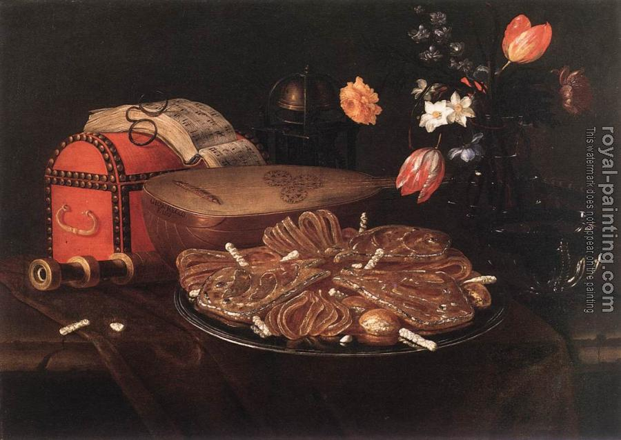 Giuseppe Recco : Still-life with the Five Senses