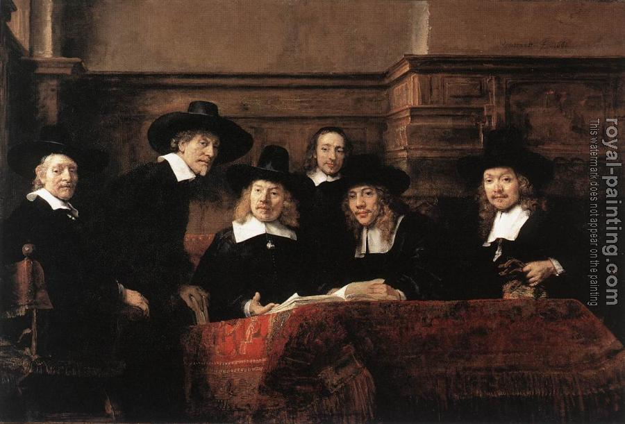 Rembrandt : Sampling Officials of the Drapers' Guild