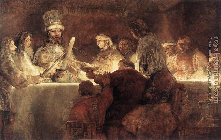 Rembrandt : The Conspiration of the Bataves