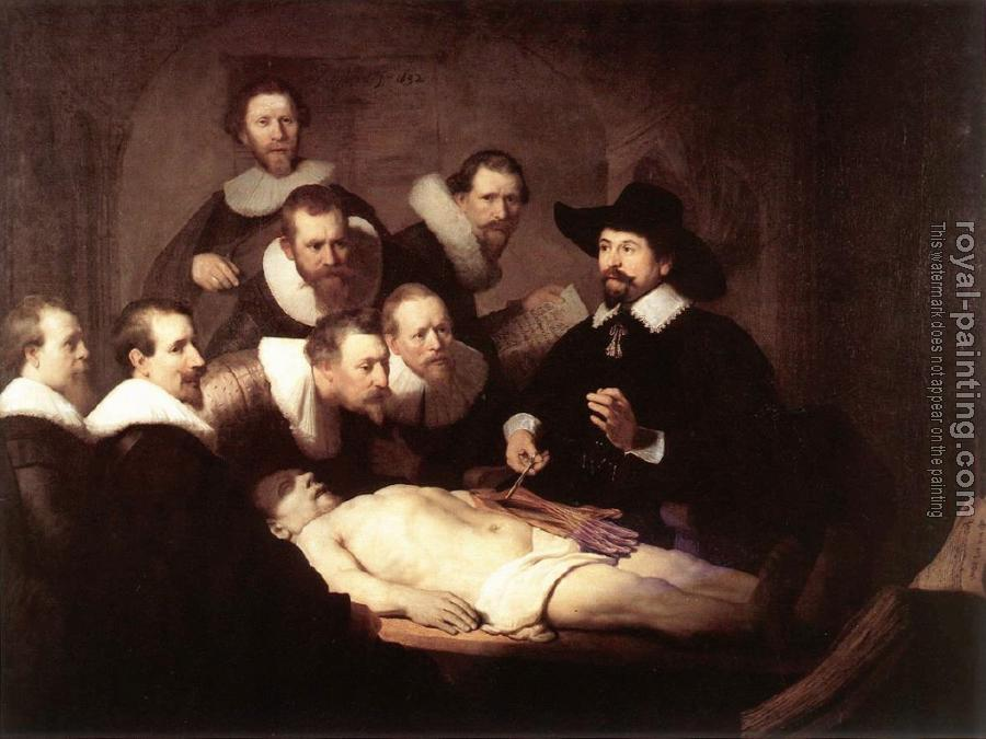 Rembrandt : The Anatomy Lesson of Doctor Tulp