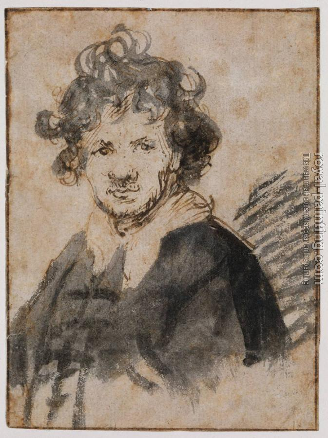 Rembrandt : Self Portrait III