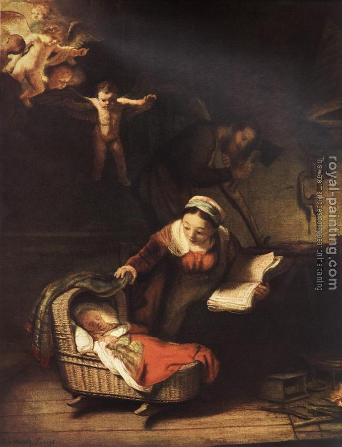 Rembrandt : The Holy Family with Angels