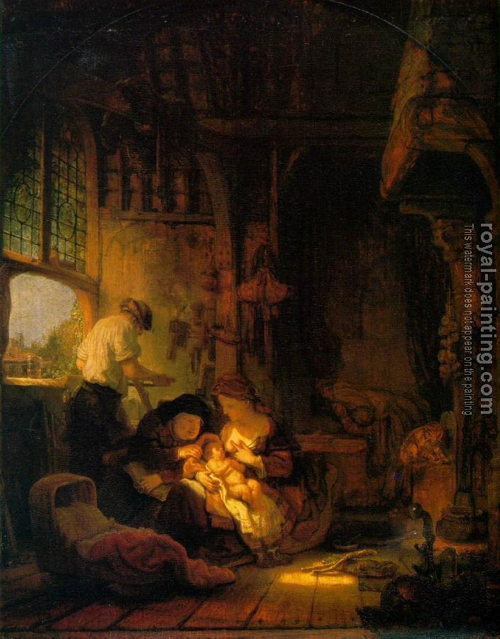 Rembrandt : Holy Family