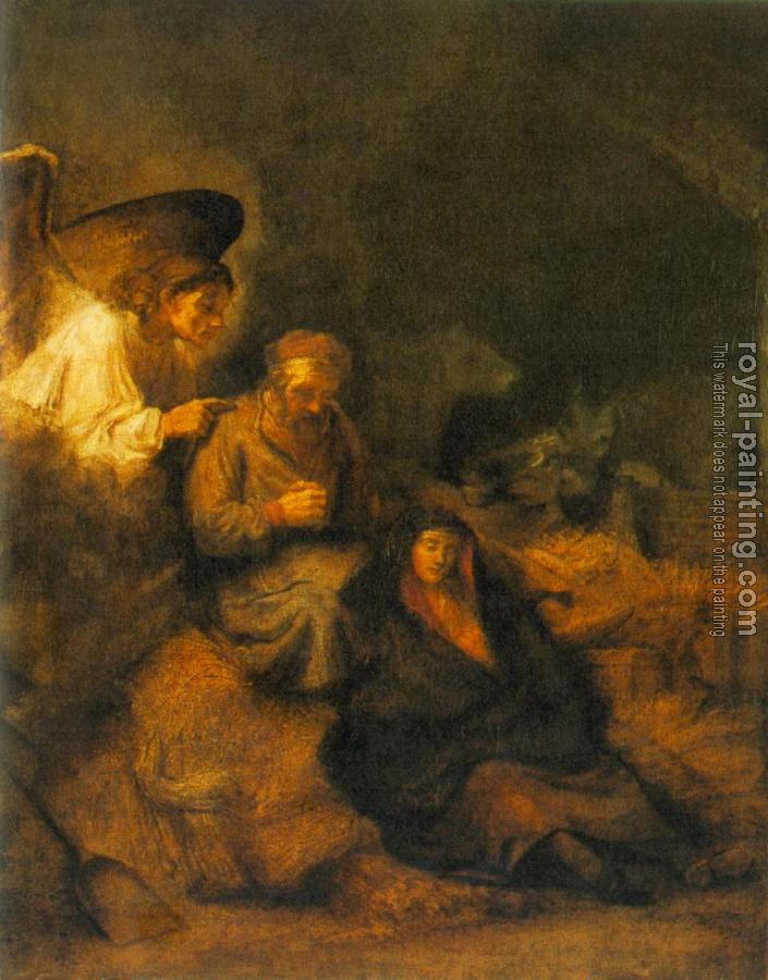 Rembrandt : The Dream of St Joseph