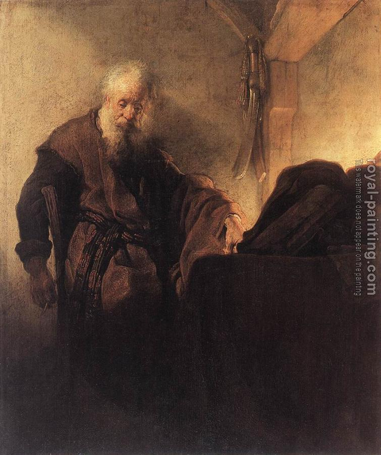 Rembrandt : St Paul at his Writing Desk