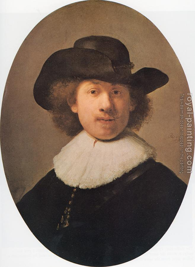 Rembrandt : Self-portrait as a Burger
