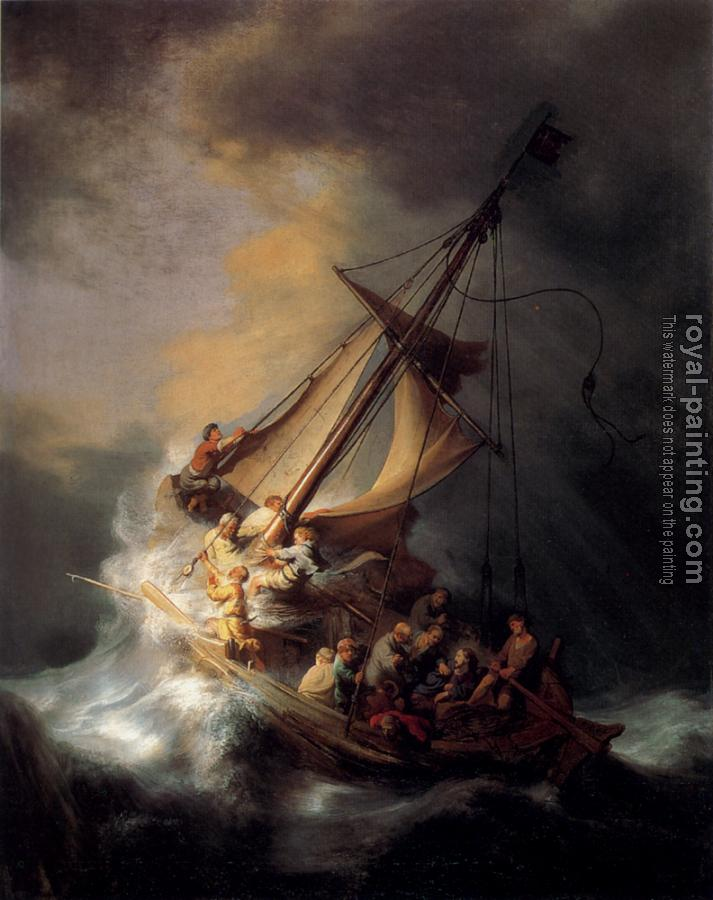 Rembrandt : The Storm on the Sea of Galilee