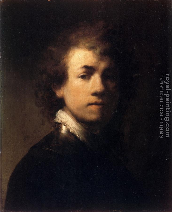 Rembrandt : Self-portrait, III