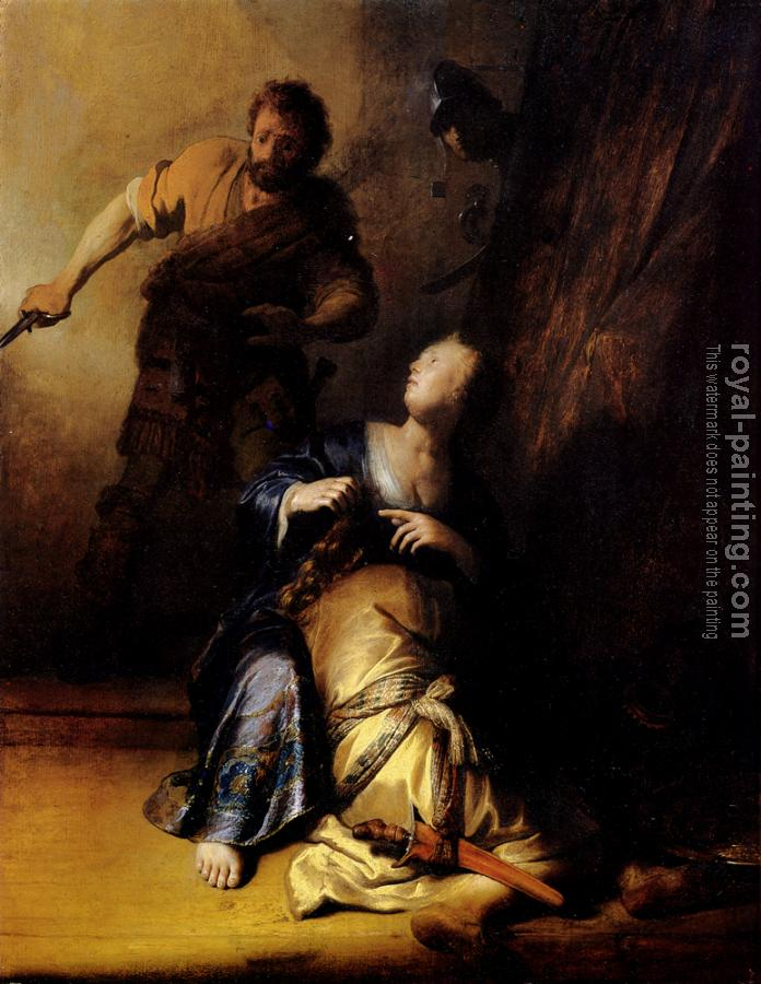 Rembrandt : Samson And Delilah