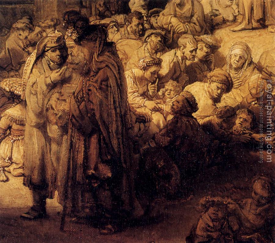 Rembrandt : Preaching of St John the Baptis