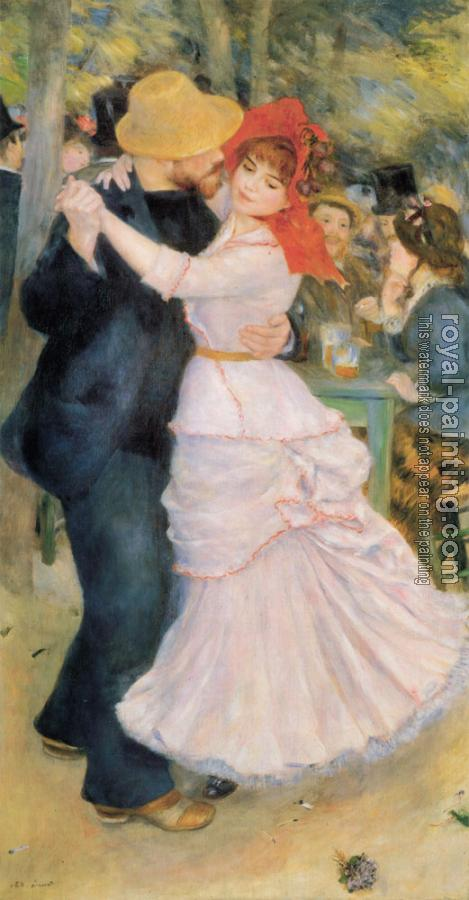 Pierre Auguste Renoir : Dance at Bougival