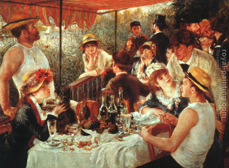 Pierre Auguste Renoir : The Boating Party Lunch