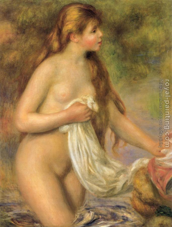 Pierre Auguste Renoir : Bather with Long Hair
