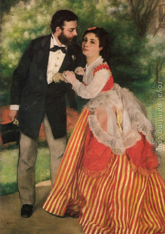 Portrait of Alfred and Marie Sisley