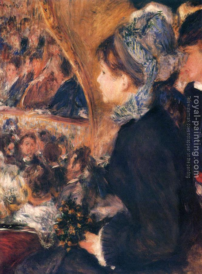 Pierre Auguste Renoir : At The Theatre