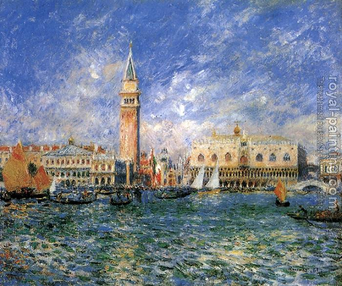 Pierre Auguste Renoir : The Doges' Palace