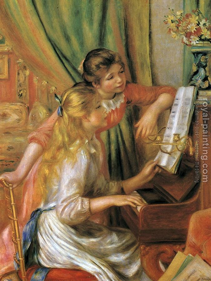 Pierre Auguste Renoir : Girls at the Piano