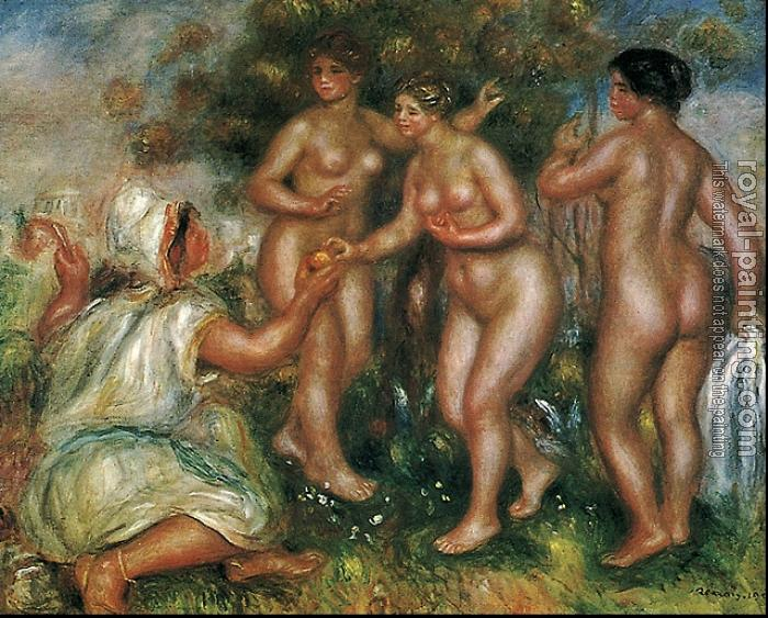 Pierre Auguste Renoir : The judgment of Paris