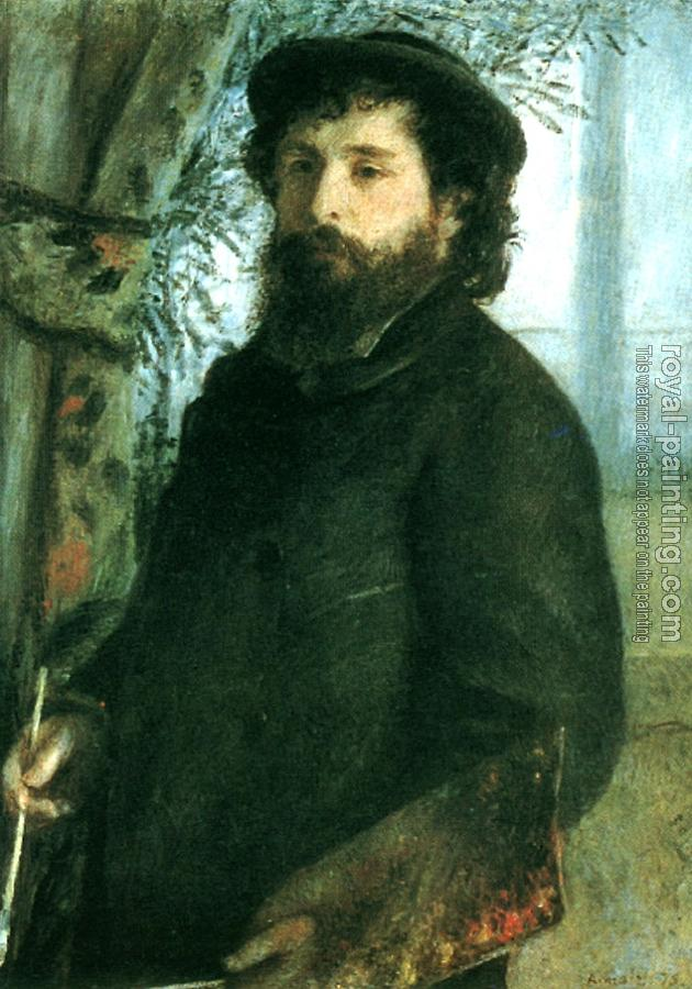 Pierre Auguste Renoir : Portrait of Claude Monet