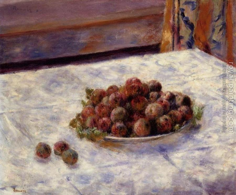 A Plate of Plums