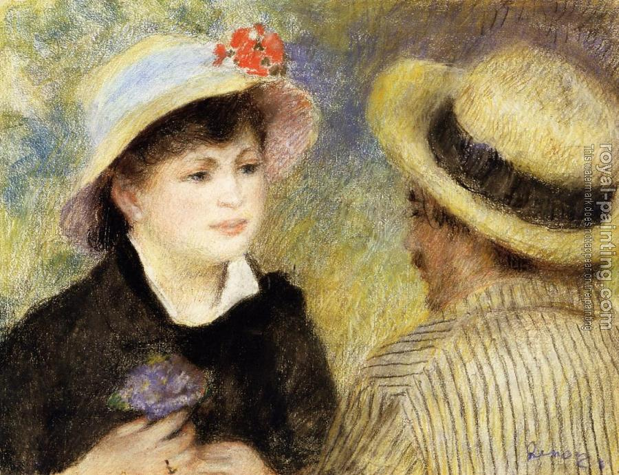 Aline Charigot and Renoir