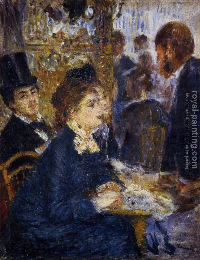 Pierre Auguste Renoir : At the Cafe
