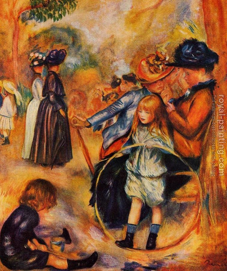 Pierre Auguste Renoir : At the Luxembourg Gardens
