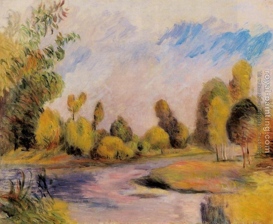 Pierre Auguste Renoir : Banks of a River