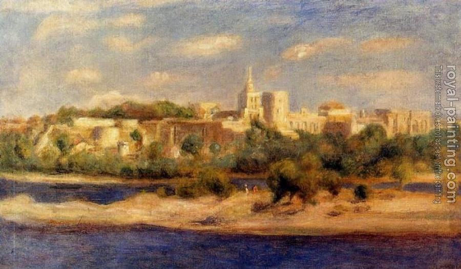 Pierre Auguste Renoir : Bathers on the Banks of the Thone in Avignon