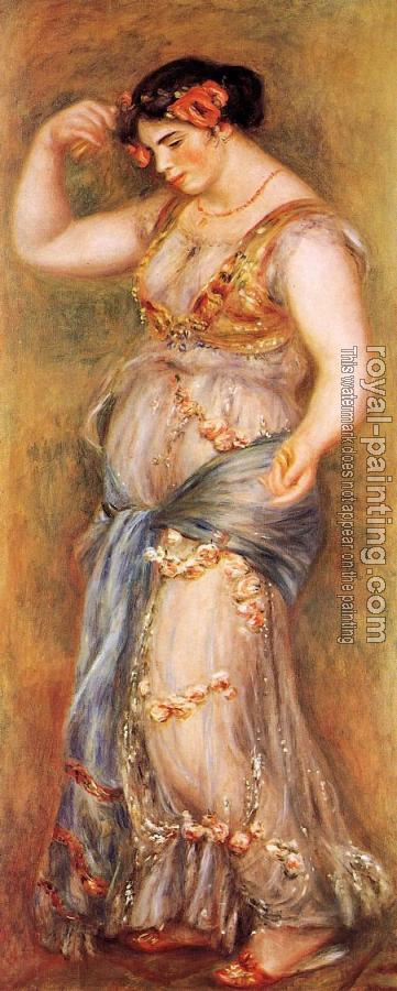 Pierre Auguste Renoir : Dancer with Castanets II