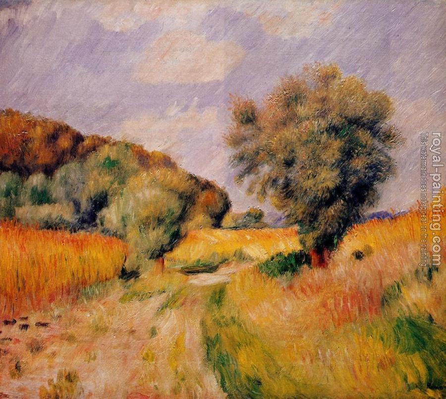Pierre Auguste Renoir : Fields of Wheat