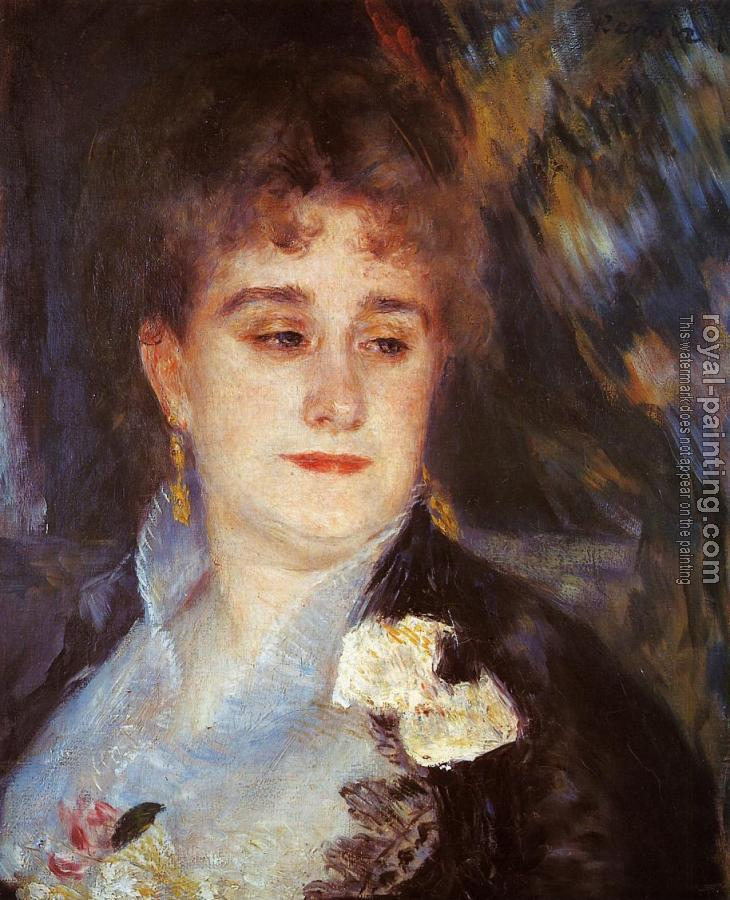 Pierre Auguste Renoir : First Portrait of Madame Georges Charpentier