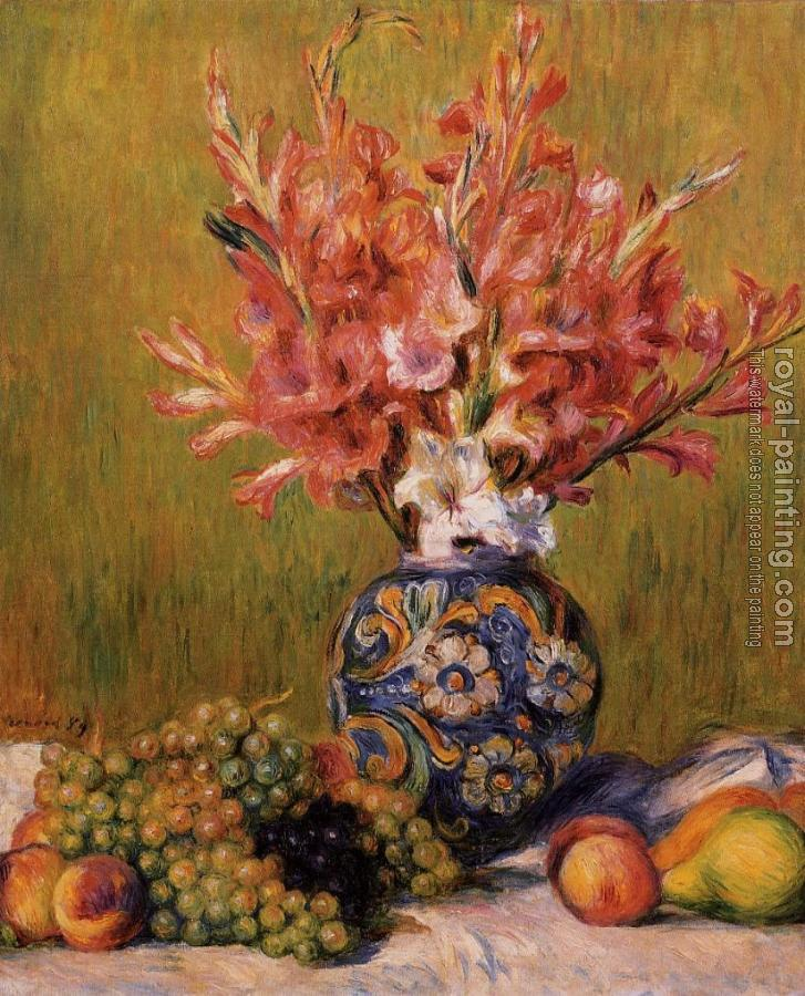 Pierre Auguste Renoir : Flowers and Fruit II