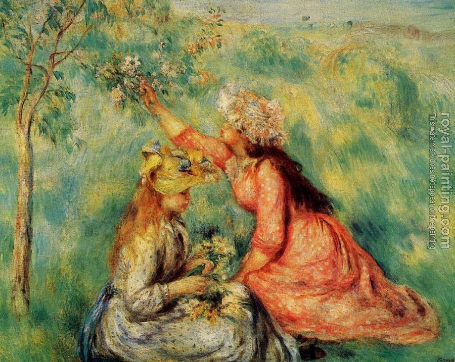 Pierre Auguste Renoir : In the Fields