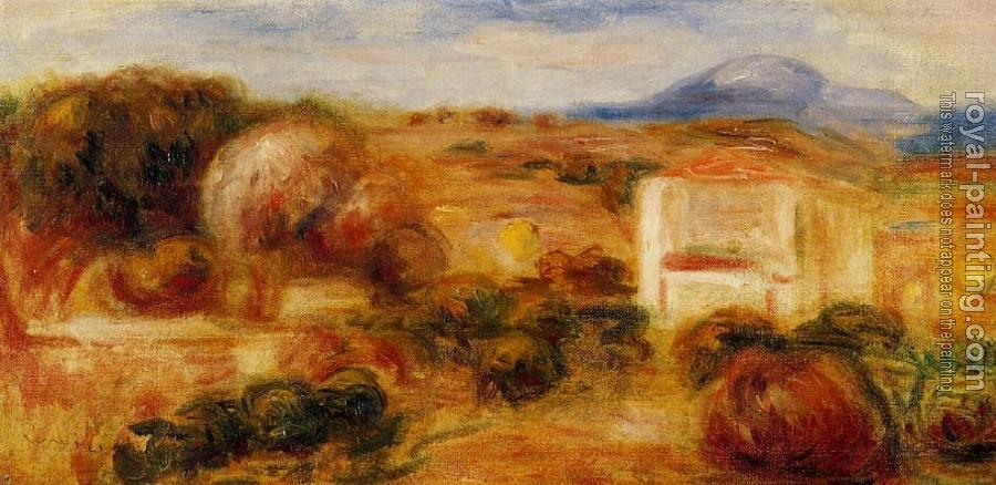 Pierre Auguste Renoir : Landscape with White House