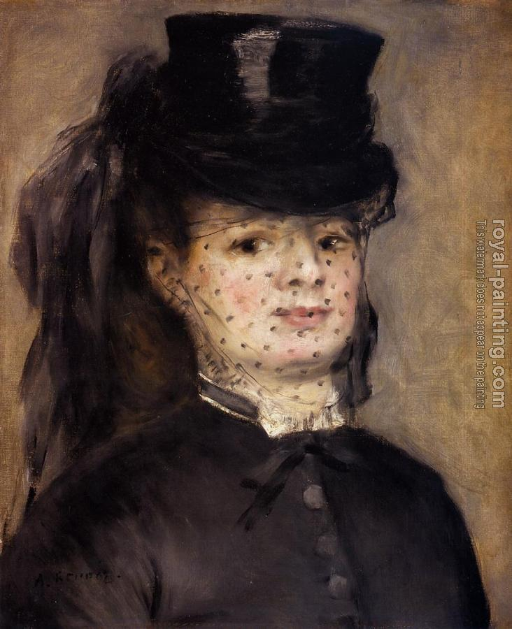 Pierre Auguste Renoir : Madame Darras as an Horsewoman