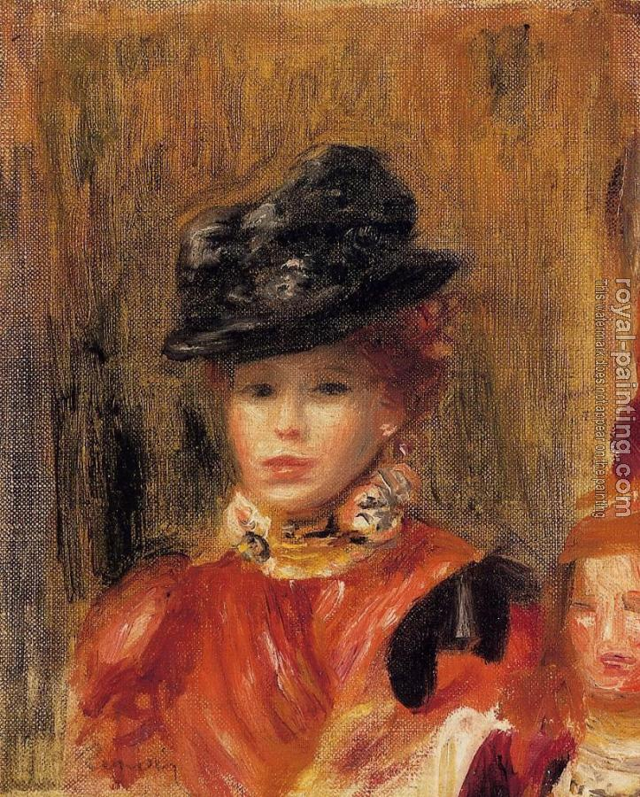 Pierre Auguste Renoir : Madame Le Brun and Her Daughter