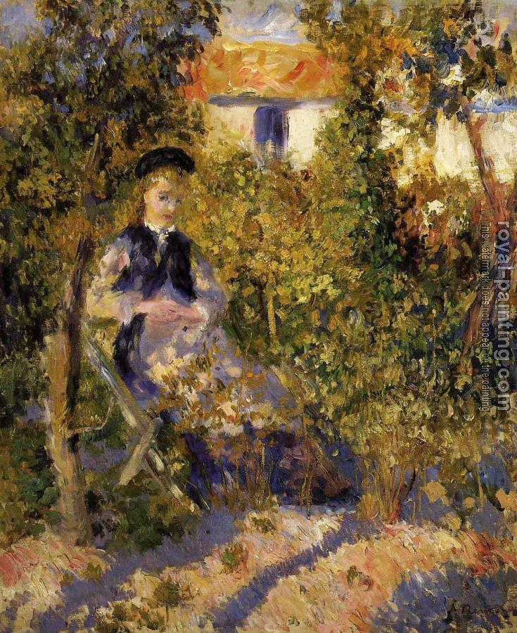 Pierre Auguste Renoir : Nini in the Garden