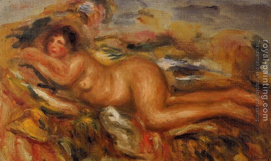 Pierre Auguste Renoir : Nude on the Grass
