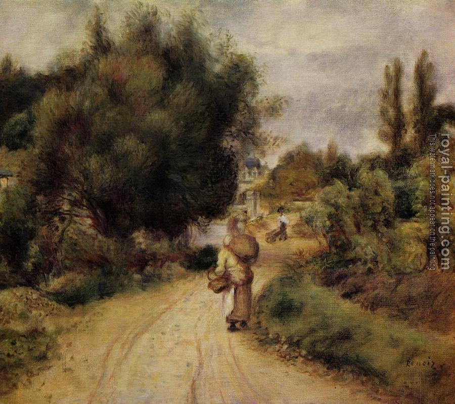 Pierre Auguste Renoir : On the Banks of the River