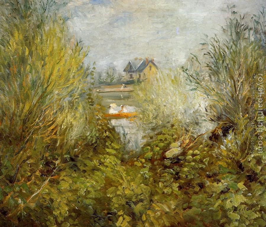 Pierre Auguste Renoir : On the Seine, near Argenteuil