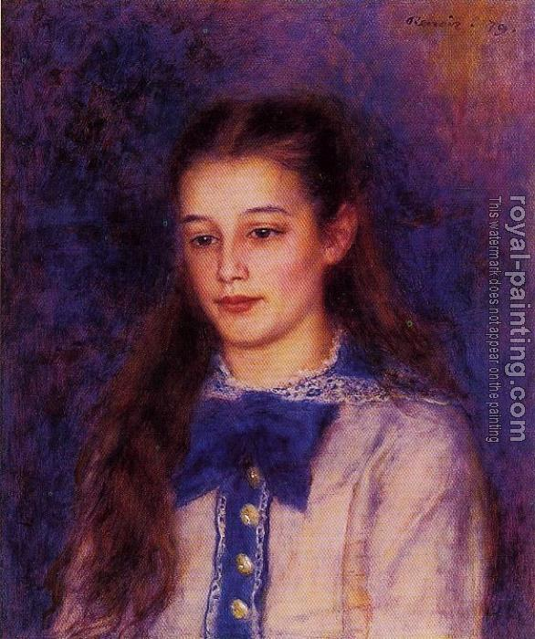 Pierre Auguste Renoir : Portrait of Therese Berard
