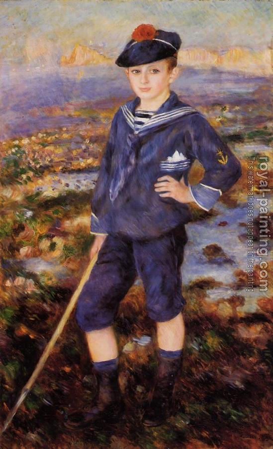 Pierre Auguste Renoir : Sailor Boy, Robert Nunes