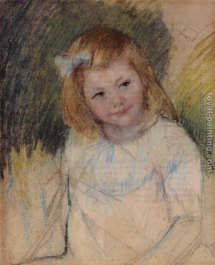 Pierre Auguste Renoir : Sara Looking to the Right