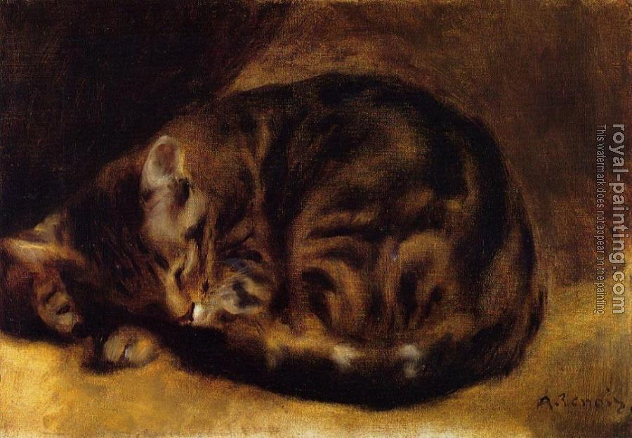 Pierre Auguste Renoir : Sleeping Cat